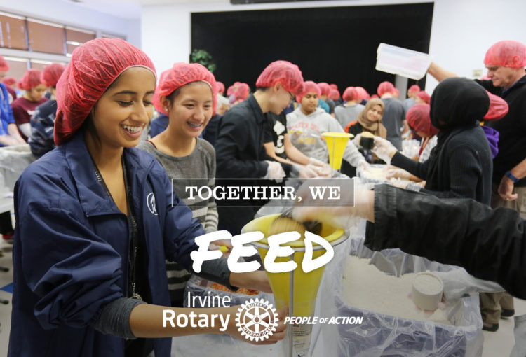 Stop Hunger at Irvine Rotary Club - People of Action