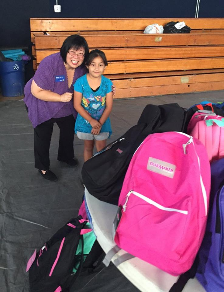 Backpacks Rotary Club of Irvine 8